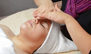 Shear Dimensions: Swedish or Hot-Stone Massage, Facial, or Swedish Massage with Body Scrub at Shear Dimensions (Up to 54% Off)