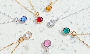 Collier Ah! Jewellery argent orné de cristaux Swarovski®