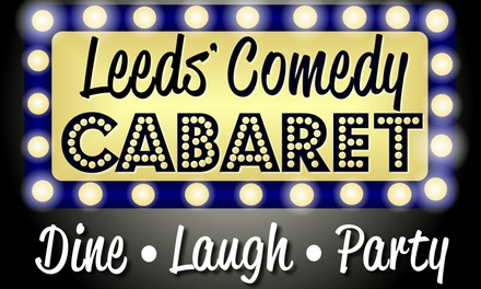 Entry to Comedy Show for Up to Four at Comedy Cabaret Leeds