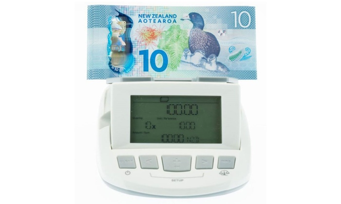 KMate (Klika): $349 for an Electronic Bill and Coin Money Counter