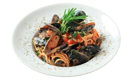 Menu business lunch di pesce fino a 4 persone al ristorante Terrazza 0[2]9 (sconto fino a 58%)