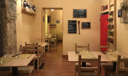 Piazza del Gesù: menu pesce e vino