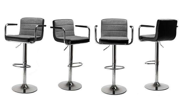 Tendo bar stool with armrests groupon