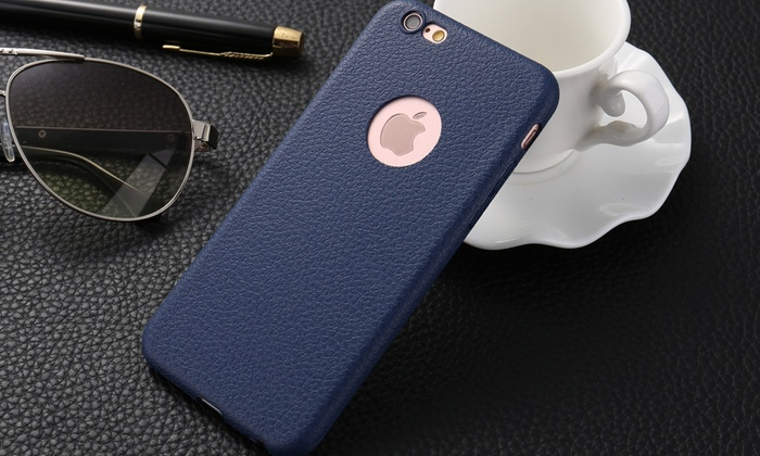 coque iphone 8 peau de peche