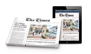The Times of Trenton: Three or Six Months of Home Delivery and 7-Day Digital Access from The Times of Trenton (Up to 47% Off)