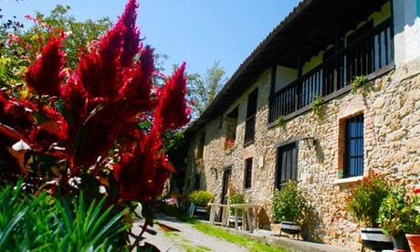 Asturias: 2-3 noches para dos en apartamento o hasta cuatro en casa rural con opción a 1 cena en Caserías de Sorribas