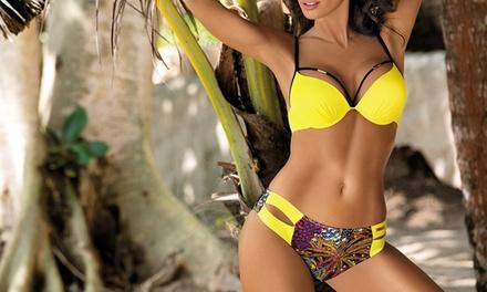 Bikini pushup Samantha