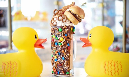 Casual American Cuisine at Sugar Factory (Up to 35% Off). Two Options Available.
