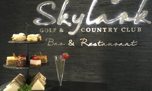 Skylark Golf and Country Club: Afternoon Tea with Prosecco for Two at Skylark Golf and Country Club (48% Off)