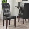 Cosmopolitan Tufted Parson Chairs (Set of 2)