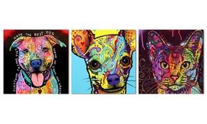 Colorful Animal Wall Art on Metal