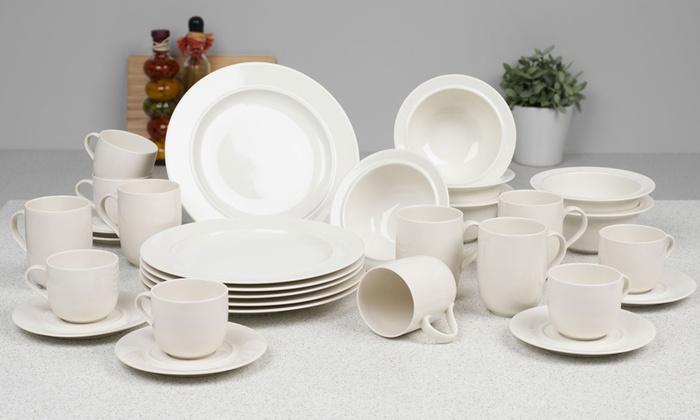 vaisselle alessi en porcelaine groupon shopping. Black Bedroom Furniture Sets. Home Design Ideas