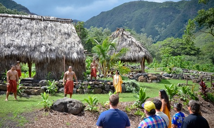 $75 for a Four-Hour Guided Hawaiian Cultural Tour with Snacks from Maui Hawaiian Village ($129 Value)