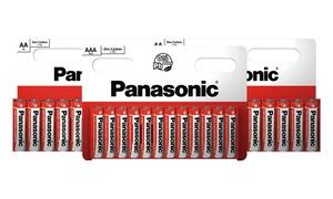 Piles AA et AAA Panasonic Zinc