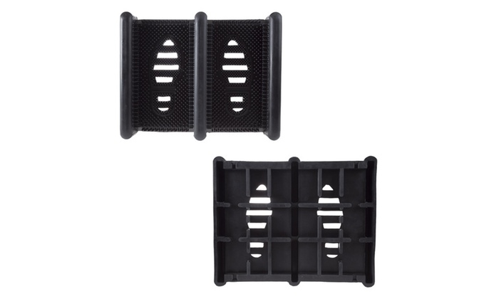 stalwart heavy duty boot and shoe rubber scraper mat groupon. Black Bedroom Furniture Sets. Home Design Ideas