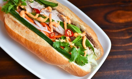 $8 for Vietnamese Lunch with Drink at Saigon Lane, Choice of Two Locations (Up to $13.50 Value)