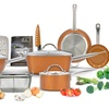 Eternal Copper Infused Cookware Set (12-Piece)