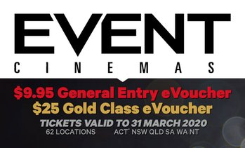 Event Cinemas: General Entry eVoucher