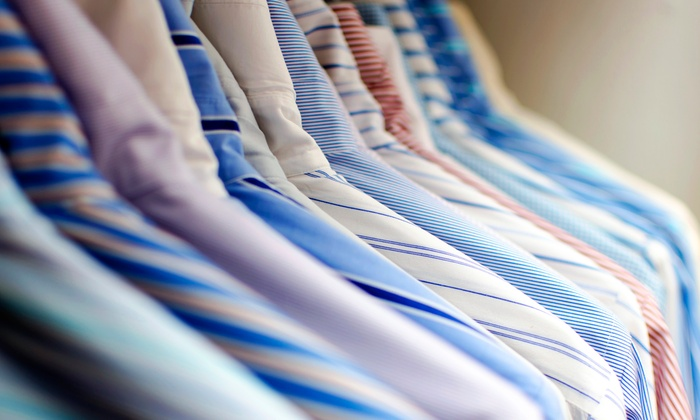 E & J Dry Cleaners - E & J Cleaners: Dry-Cleaning Services at E&J Dry Cleaners (50% Off). Three Options Available.