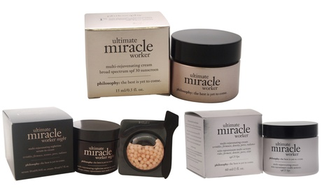 Philosophy Ultimate Miracle Worker Creams for Men and Women