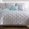 Zarah Pintucked Reversible Comforter Set (4- or 5-Piece)