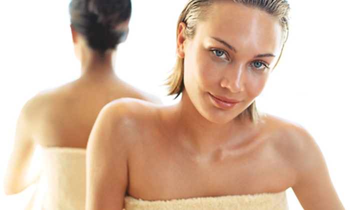 LeanLight of Pinellas - St. Petersburg: Infrared Sauna Sessions and Body-Sculpting Services at LeanLight of Pinellas (Up to 71% Off). Four Options Available.