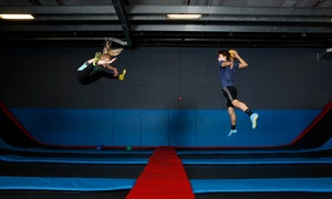 Up to 38% Off Pass to Flight Trampoline Park at Flight Trampoline Park, plus 6.0% Cash Back from Ebates.
