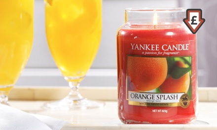Yankee Candle Large Jar Candle for £12.98
