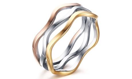 Conjunto de 3 anillos Volupta
