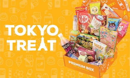 $25 for OneMonth Premium Candy Box Subscription + FREE SHIPPING from TokyoTreat Up to $50.92 Value