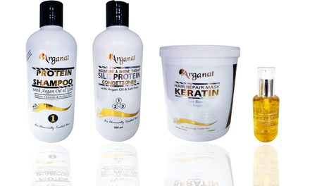 Argan Oil and Keratin Hair Treatments from AED 139 (Up to 42% Off)