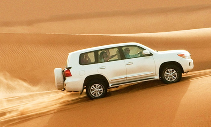 Desert Safari with Barbecue Buffet, Bottomless Drinks and Activities for Up to Six with All Over Tours (Up to 60% Off)