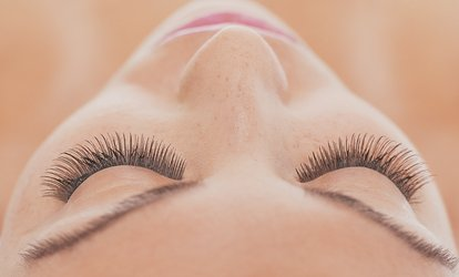 Full Set of Traditional or Russian Eyelash Extensions at Lashes Mei Mei (Up to 53% Off)