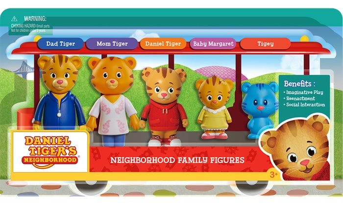 Up To 27 Off On Daniel Tiger Family 5 Pack Groupon Goods