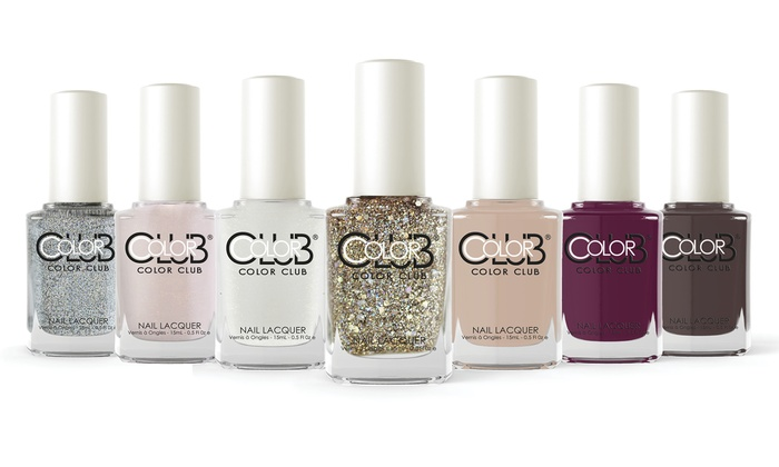 Color Club Under My Spell Nail Polish 7 Pack