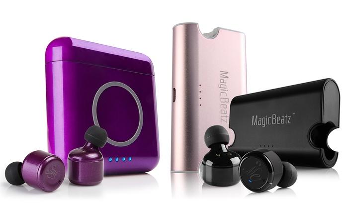 8a37769387b Magicbeatz True Wireless Stereo Bluetooth Sport Earbuds - 3 hour, 4.5 hour,  6 hour and 8 hour options