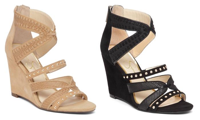 Jessica Simpson Zenolia Women's Wedge Sandals