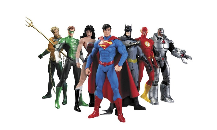 Justice League Action Figure Set (7-Piece)