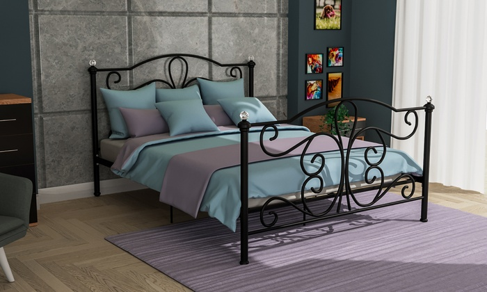 Vida Designs Chicago Bed Frame in Choice of Size and Colour
