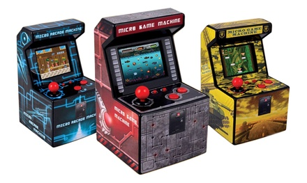 Mini game machine disponibile in 3 colori con 250 giochi