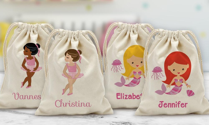 2de137236ea422 Up To 75% Off on Custom Drawstring Bag for Kids