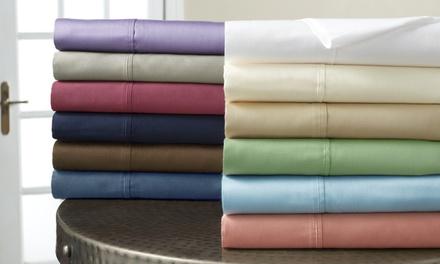 500TC Cotton-Rich Easy-Care Sheet Set