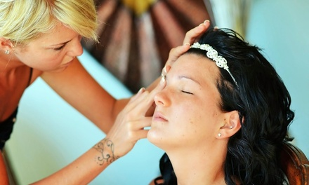 $75 for Waterproof Airbrush Makeup with Lashes from Ally Mattila ($150 Value)