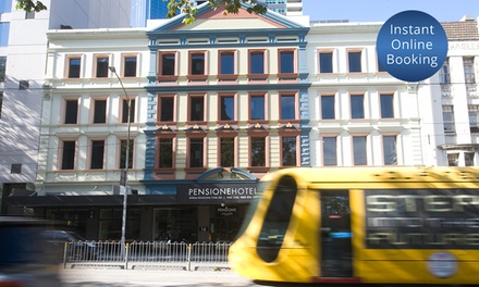 Melbourne, CBD: 1-3 Nights Inner City Stay + Breakfast for Two People with Late Checkout at Pensione Hotel Melbourne