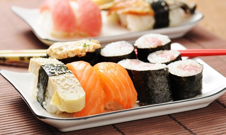 $24 for $40 Worth of Sushi, Japanese Food, and Drinks for Dinner at Yotsuba
