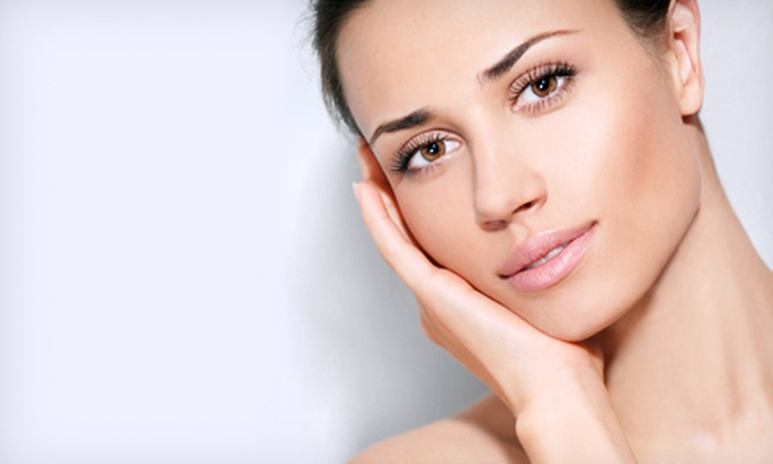 New Image - Amherst: Laser Skin Tightening for the Face or Abdomen or Face and Neck at New Image (Up to 81% Off). Three Options Available.
