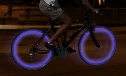 GPCT Four-LED Bike Wheel Lights