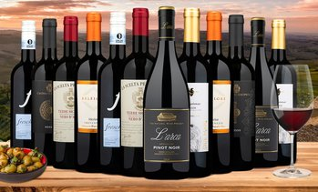 $227.85 Off 12- or 15-Pack of Italian Reds from Wine Insiders
