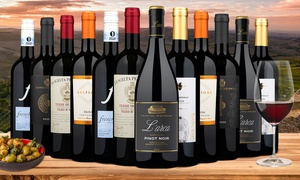 $162.88 Off 12-Pack of Impressive Italian Reds from Wine Insiders
