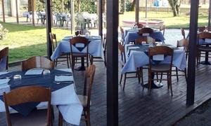 RISTORANTE NUEVA PATAGONIA: Cena argentina con calici o bottiglie di vino per 2 o 4 persone al ristorante Nueva Patagonia (sconto fino a 67%)
